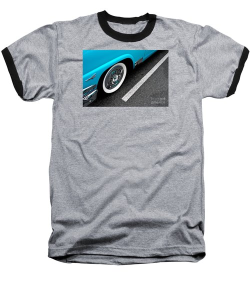 Baseball T-Shirt featuring the photograph 1958 Ford Crown Victoria by M G Whittingham
