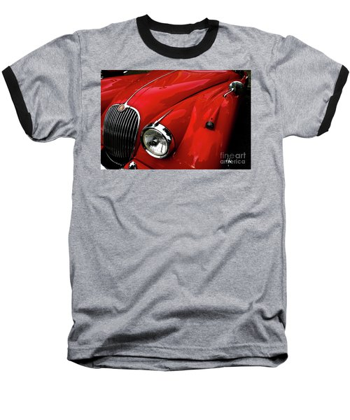 Red Jaguar Baseball T-Shirt