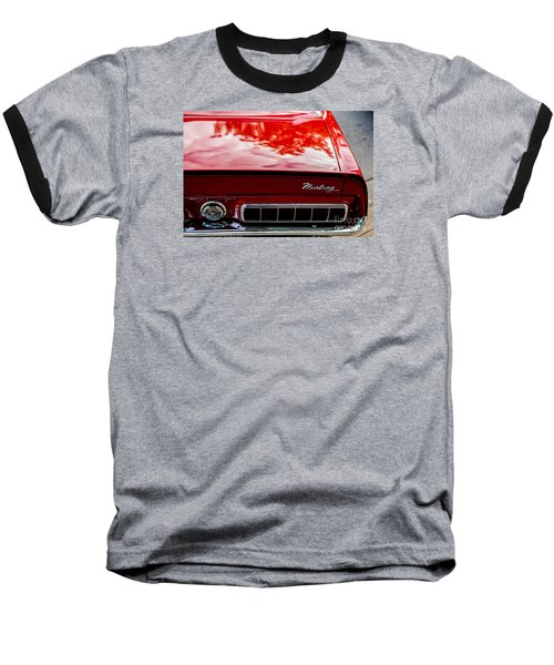 Baseball T-Shirt featuring the photograph 1967 Mustang by M G Whittingham