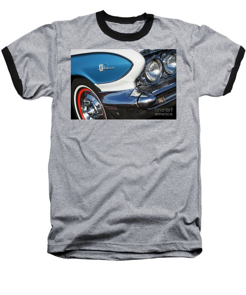 Baseball T-Shirt featuring the photograph 1961 Buick Le Sabre by Dennis Hedberg