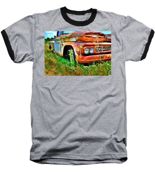 1961 Chevrolet Apache 10 5 Baseball T-Shirt