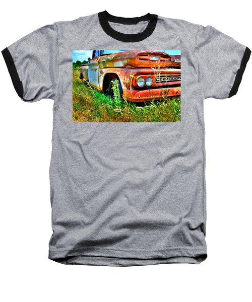 1961 Chevrolet Apache 10 5 Baseball T-Shirt