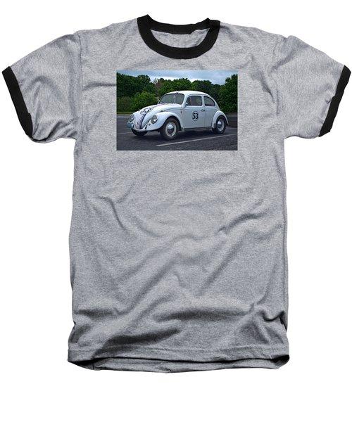 1963 Vw Herbie  Baseball T-Shirt by Tim McCullough