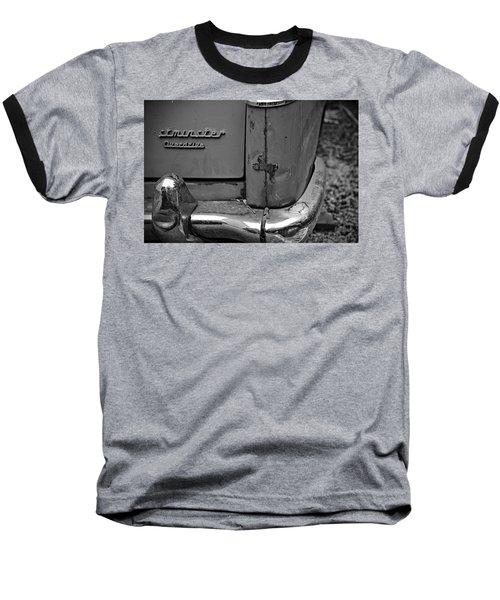 1964 Austin Westminster - Detail Baseball T-Shirt by Cendrine Marrouat