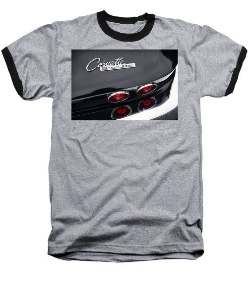 Baseball T-Shirt featuring the photograph 1964 Chevrolet Corvette Sting Ray  by Gordon Dean II