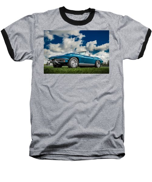 1966 Corvette Stingray  Baseball T-Shirt