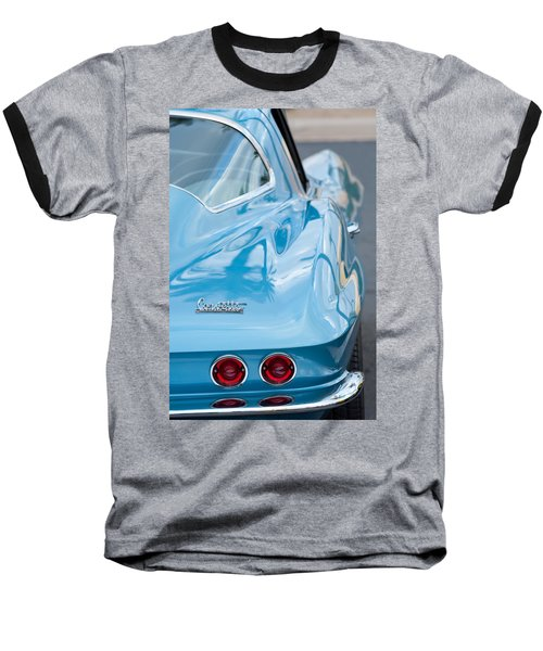 1967 Chevrolet Corvette 11 Baseball T-Shirt
