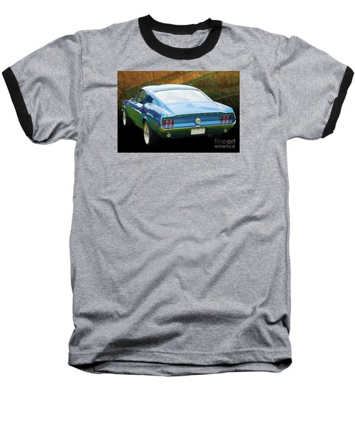 1967 Mustang Baseball T-Shirt
