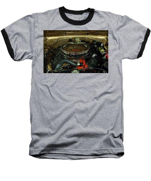 1967 Plymouth Belvedere Gtx 426 Hemi Motor Baseball T-Shirt