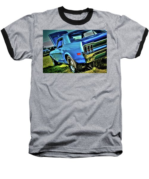 1968 Ford Mustang Baseball T-Shirt