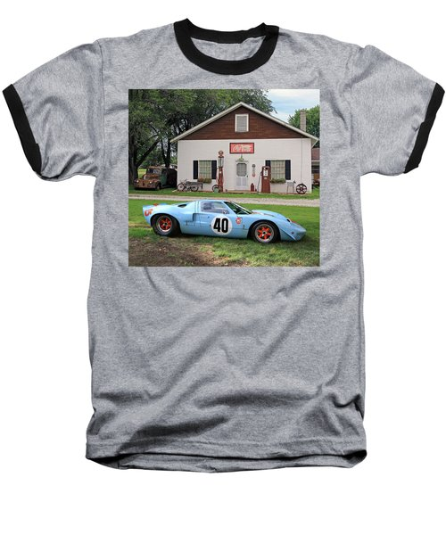 Baseball T-Shirt featuring the photograph 1968 Gulf Mirage In Missouri by Christopher McKenzie