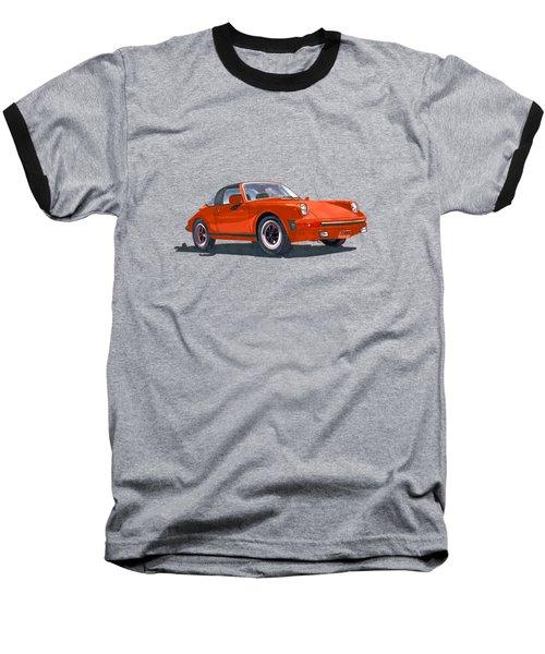 1968 Porsche 911 Targa Tee Baseball T-Shirt by Jack Pumphrey