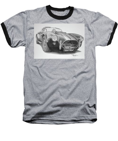 1968 Shelby Cobra Baseball T-Shirt