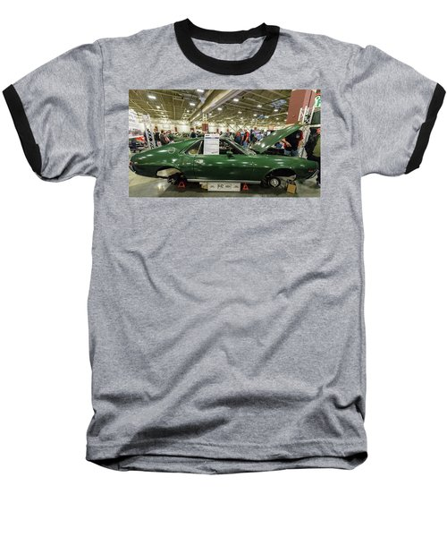 Baseball T-Shirt featuring the photograph 1969 Amc Amx by Randy Scherkenbach