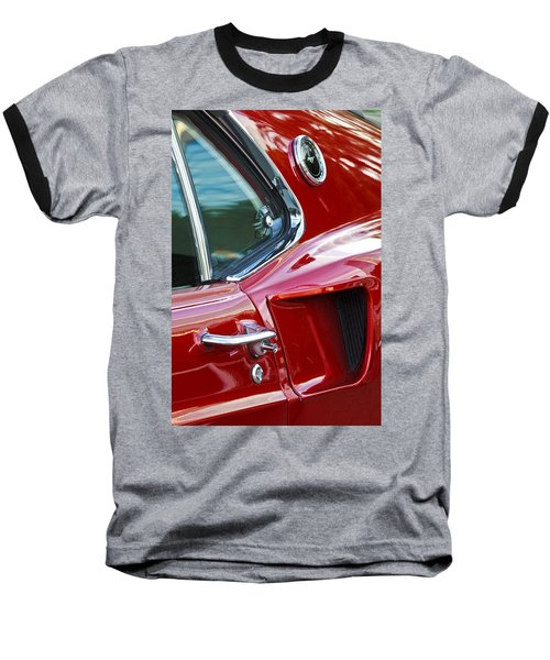 1969 Ford Mustang Mach 1 Side Scoop Baseball T-Shirt