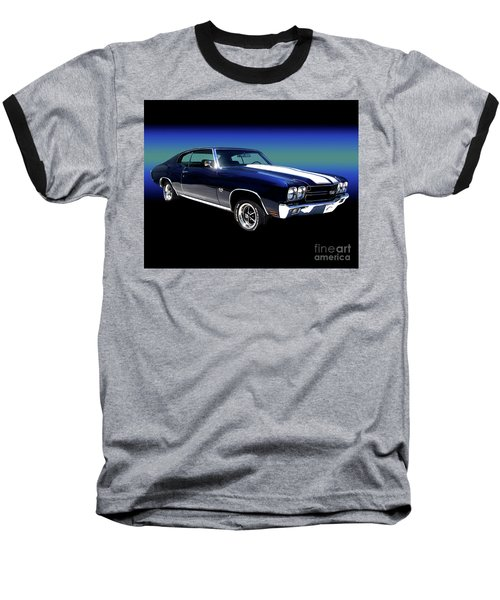 1970 Chevelle Ss Baseball T-Shirt