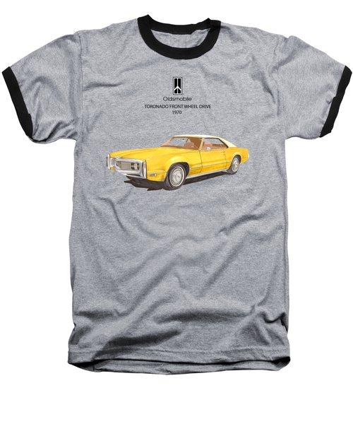 1970 Oldsmobile Toronado Baseball T-Shirt