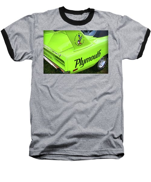 1970 Plymouth Superbird Baseball T-Shirt by Gordon Dean II