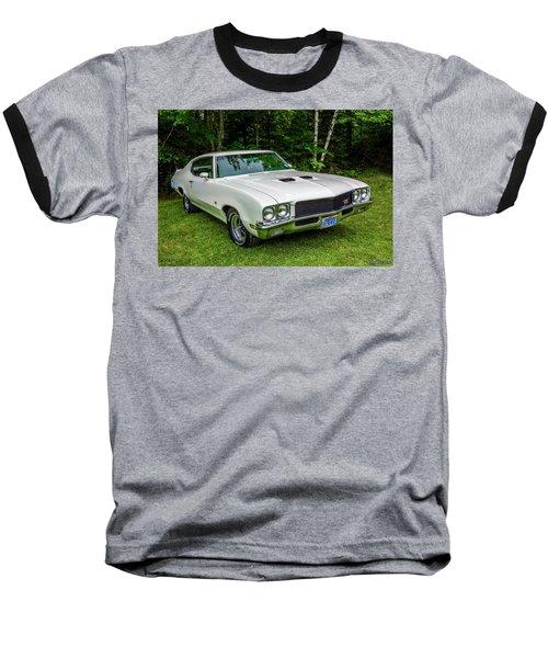 1971 Buick Skylark Gs Baseball T-Shirt by Ken Morris