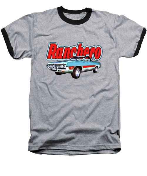 1971 Ford Ranchero At Three Palms - 5th Generation Of Ranchero Baseball T-Shirt