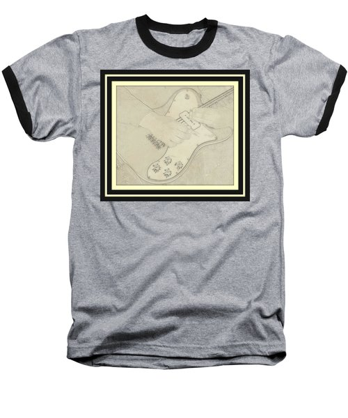 Baseball T-Shirt featuring the photograph 1972 Fender Telecaster Custom by Chris Berry