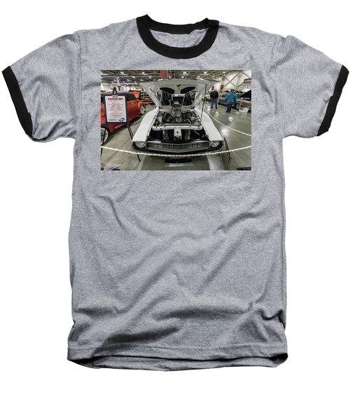 Baseball T-Shirt featuring the photograph 1972 Javelin Sst 2 by Randy Scherkenbach