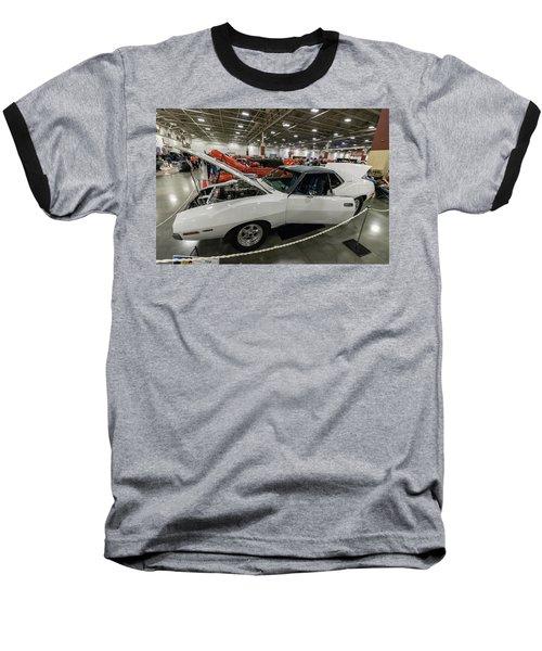 Baseball T-Shirt featuring the photograph 1972 Javelin Sst by Randy Scherkenbach