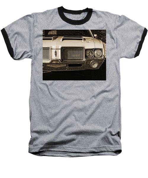 1972 Olds 442 - Sepia Baseball T-Shirt