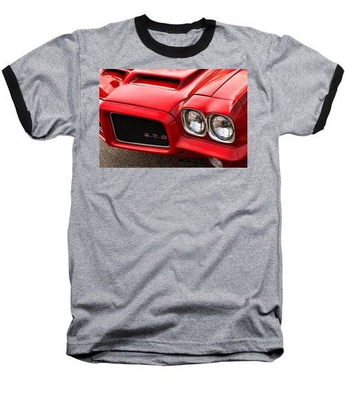 Baseball T-Shirt featuring the photograph 1972 Pontiac Gto by Gordon Dean II