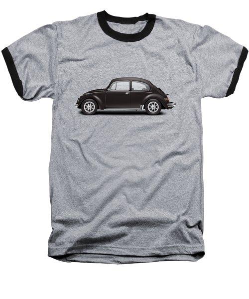 1972 Volkswagen 1300 - Custom Baseball T-Shirt by Ed Jackson