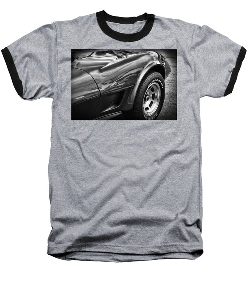 1973 Chevrolet Corvette Stingray Baseball T-Shirt by Gordon Dean II