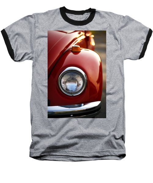 1973 Volkswagen Beetle Baseball T-Shirt by Gordon Dean II