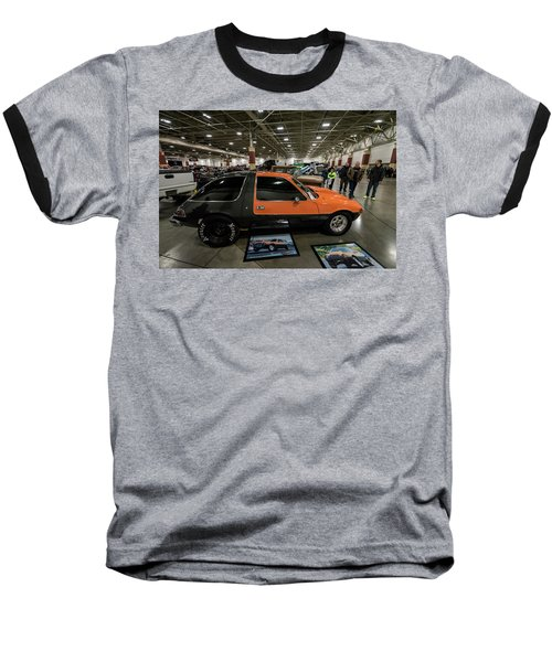 1975 Amc Pacer Baseball T-Shirt by Randy Scherkenbach