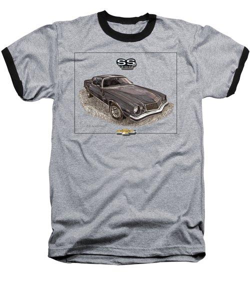 1976 Camaro S S 396 Tee Shirt Baseball T-Shirt by Jack Pumphrey