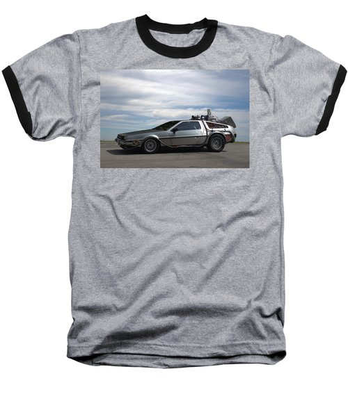 1981 Delorean Dmc12 Baseball T-Shirt