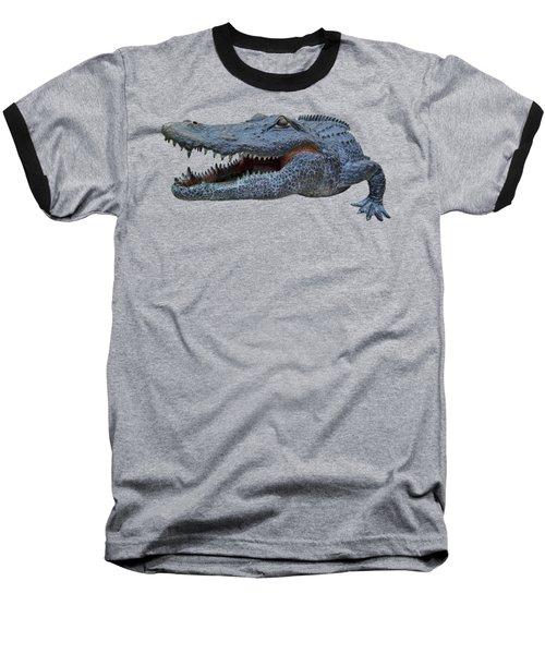 1998 Bull Gator Up Close Transparent For Customization Baseball T-Shirt