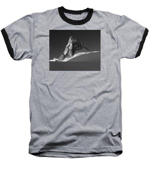 1m2716-bw Sunrise On Pigeon Spire Baseball T-Shirt