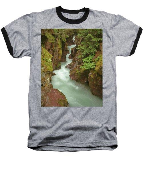 1m8115 Avalanche Gorge Mt Baseball T-Shirt