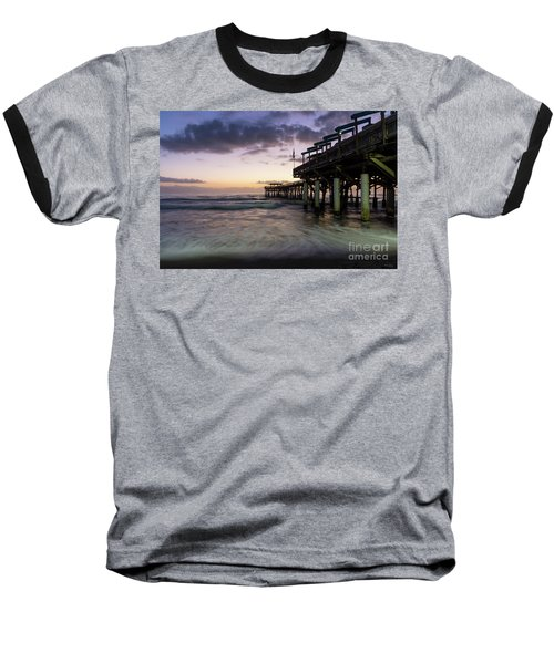 1st Dawn Cocoa Pier Baseball T-Shirt