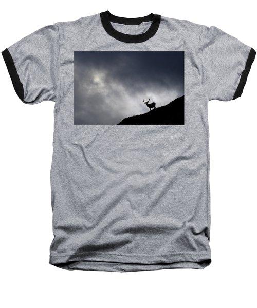Stag Silhouette Baseball T-Shirt