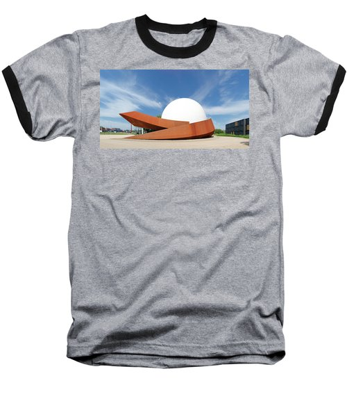 Baseball T-Shirt featuring the photograph 3d Theater by Hans Engbers