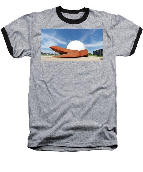 3d Theater Baseball T-Shirt