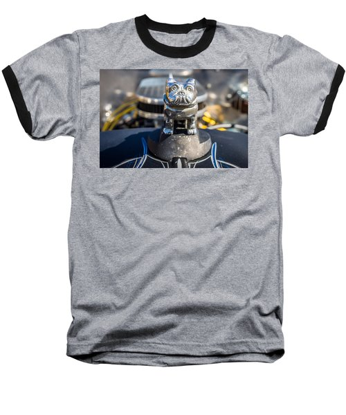 Baseball T-Shirt featuring the photograph 51 Ford F-1 Rat Rod - Ehhs Car Show by Michael Sussman