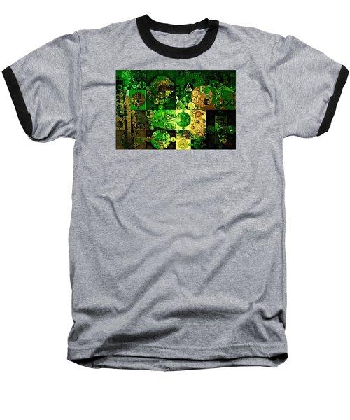 Baseball T-Shirt featuring the digital art Abstract Painting - Dell by Vitaliy Gladkiy