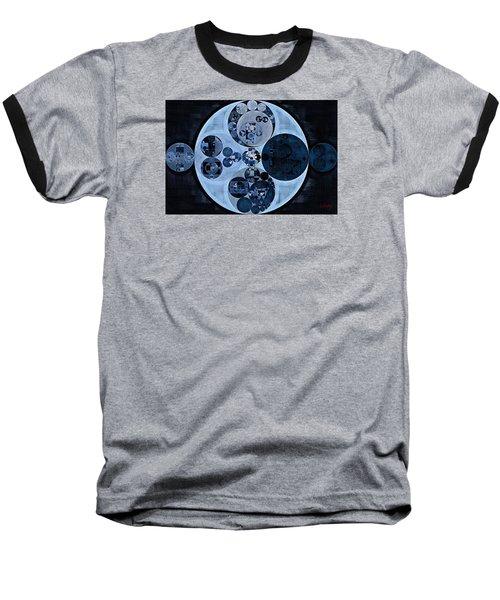 Baseball T-Shirt featuring the digital art Abstract Painting - Polo Blue by Vitaliy Gladkiy
