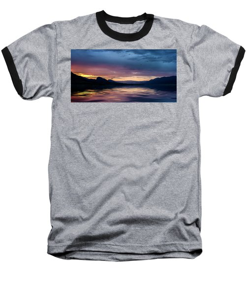 Across The Clouds I See My Shadow Fly Baseball T-Shirt