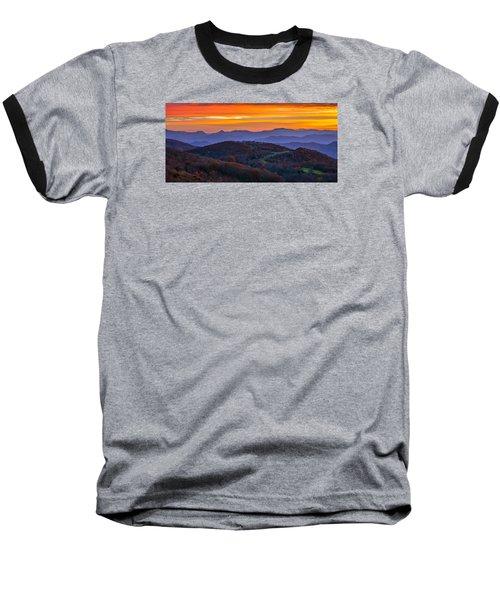 Appalachian Sunrise Baseball T-Shirt