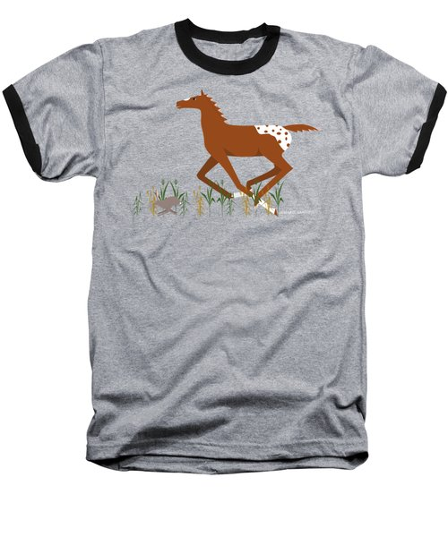 Appy Foal Baseball T-Shirt