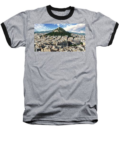 Athens Panorama Baseball T-Shirt