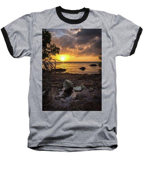 Bahia Honda Sunset Baseball T-Shirt